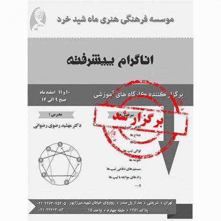 کارگاه اناگرام پیشرفته- اسفند 96- برگزار شد