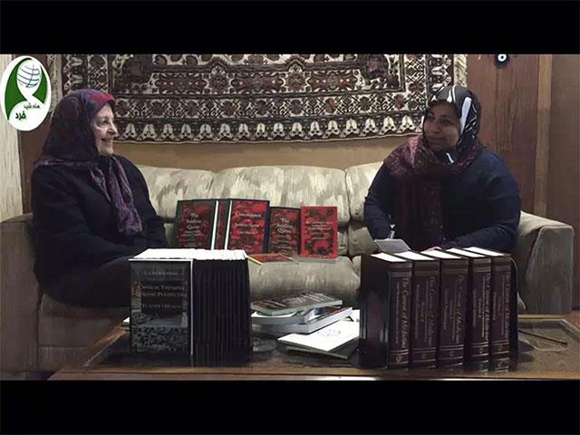مصاحبه دکتر رضوی با خانم دکتر لاله بختیار- شیکاگو