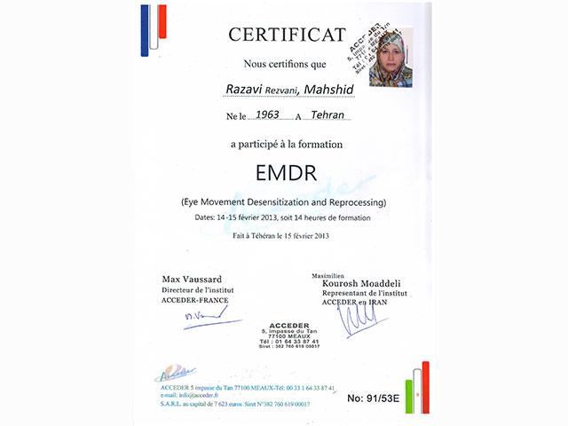EMDR-certificat
