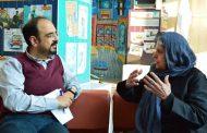 گزارش تصویری مصاحبه دکتر لاله بختیار با شهرآرا روزنامه محلی خراسان
