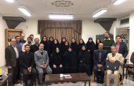 گزارش تصویری دعوت کتابخانه و موزه آستان قدس رضوی از دکتر بختیار