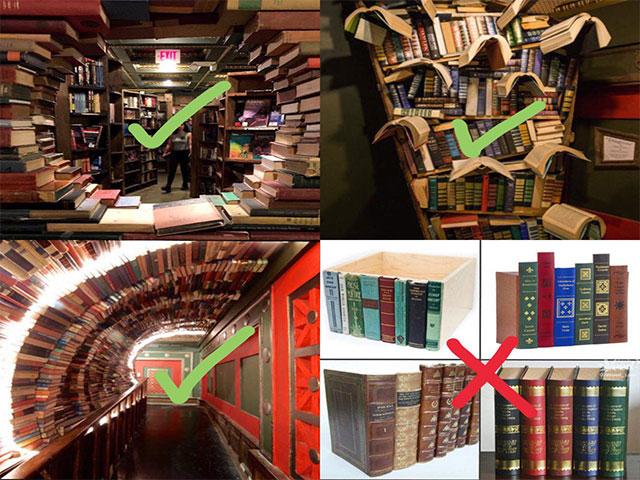 آموزشی خالی از محتوا و کتابخانه های ماکتی