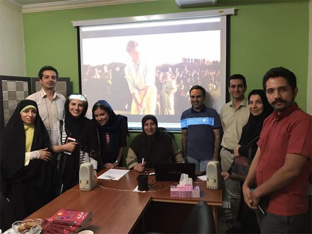 گزارش تصویری کارگاه های تحلیل فیلم با رویکرد اناگرام. بهار و تابستان ۹۶