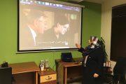 گزارش نمایش و کارگاه تحلیل فیلم کارآموز با رویکرد اناگرام