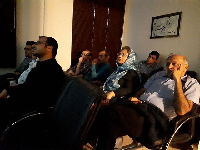 گزارش تصویری کارگاه تحلیل فیلم به خاطر پونه- اسفند ۹۶