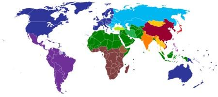 تقسیم بندی تمدن ها